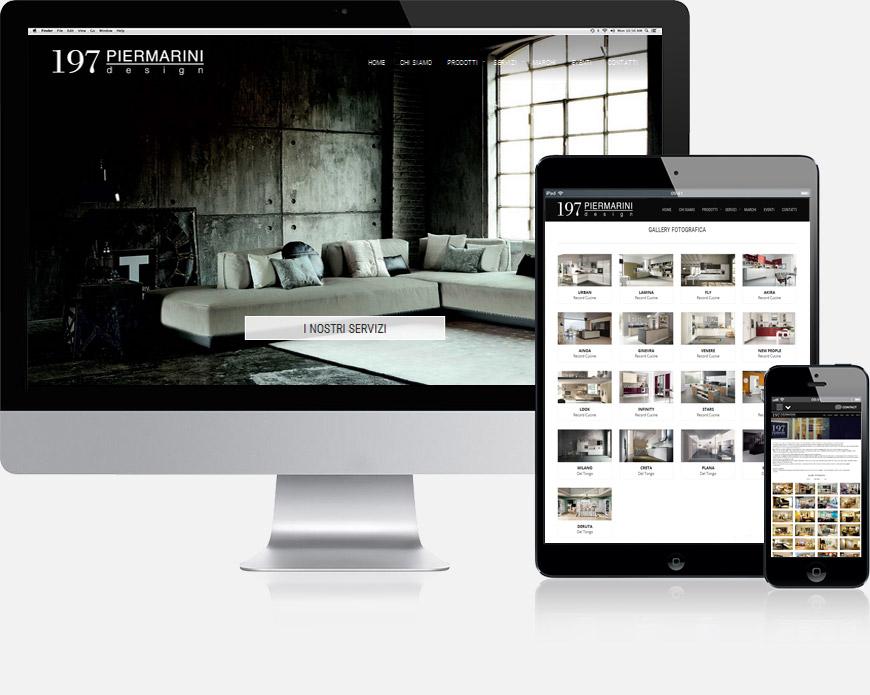 w3design realizzazione siti web clienti 197 piermarini design. Black Bedroom Furniture Sets. Home Design Ideas